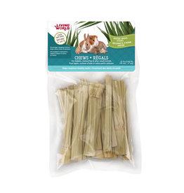 LIVING WORLD Living World Small Animal Chews - Napier Grass Sticks - 20 pieces