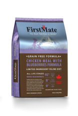 First Mate FirstMate Cat LID GF Chicken/Blueberries 10 lb