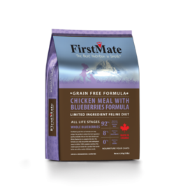 First Mate FirstMate Cat LID GF Chicken/Blueberries 10 lb