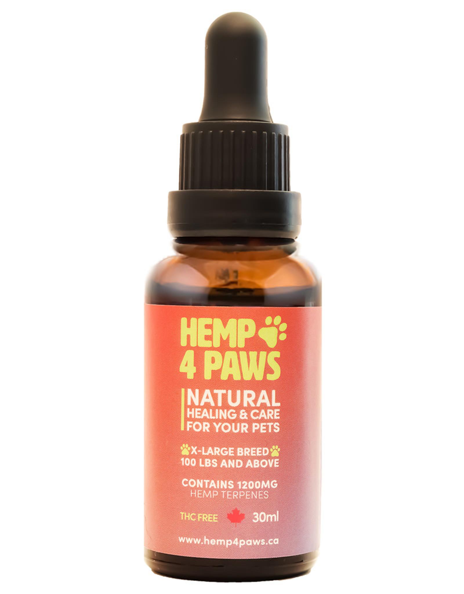 Hemp 4 Paws Hemp Terpene Oil - Large Breed