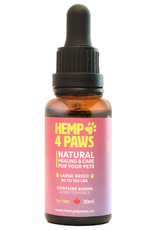 Hemp 4 Paws Hemp Seed Oil Large Breed 600MG/30ML
