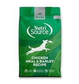 NUTRISOURCE NUTRISOURCE CHOICE Chicken & Barley 30lbs
