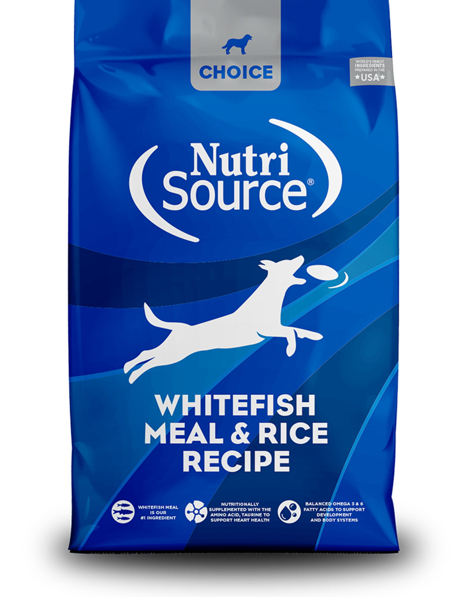 NUTRISOURCE NUTRISOURCE CHOICE Whitefish 30lb