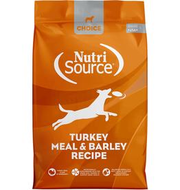 NUTRISOURCE NUTRISOURCE CHOICE Turkey & Barley 30lb
