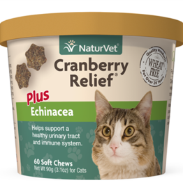 NaturVet NaturVet Cranberry Relief Cat Soft Chew 60