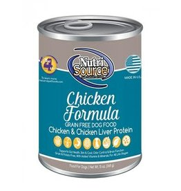 NUTRISOURCE NutriSourGF Chicken Can                             13oz