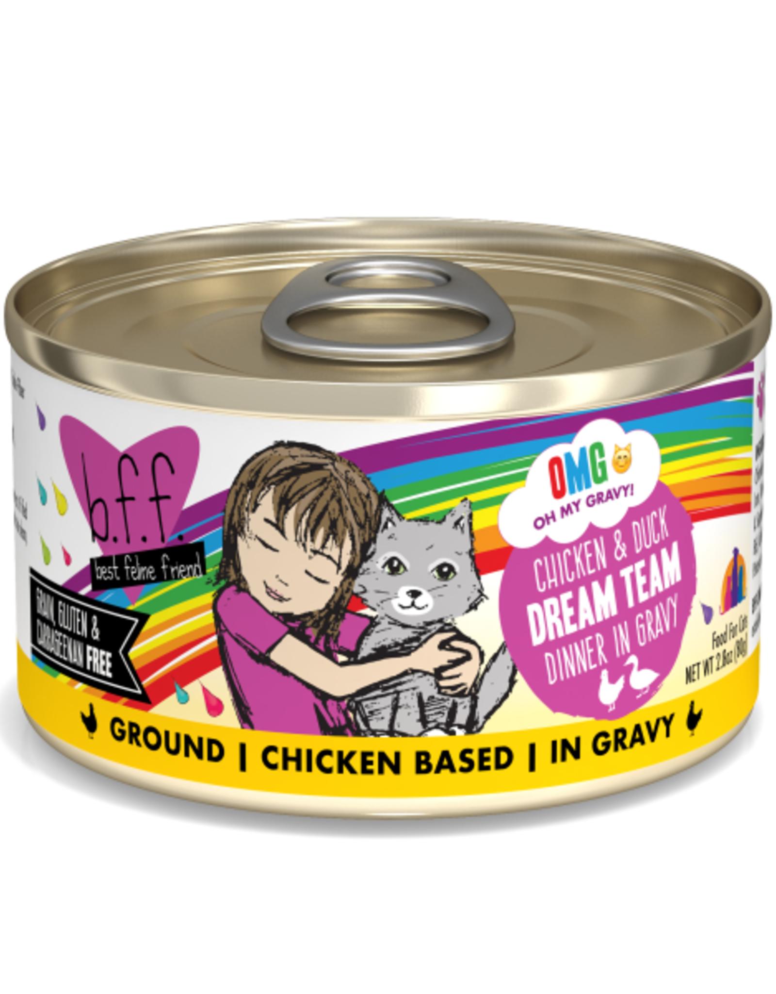Weruva BFF OMG Chicken & Duck Dream Team 2.8 oz