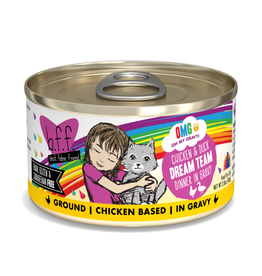 Weruva BFF OMG Chicken & Duck Dream Team 2.8 oz