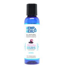 Hemp Heal Massage Oil 240GM