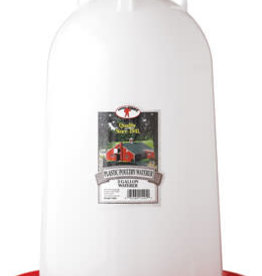 Little Giant Poultry Plastic Waterer - 3Gal