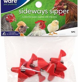 WARE MANUFACTURING Sideway Sipper Poultry Water Nippers
