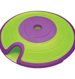 OUTWARD HOUND Outward Hound Dog Treat Maze Green & Purple | Puzzle