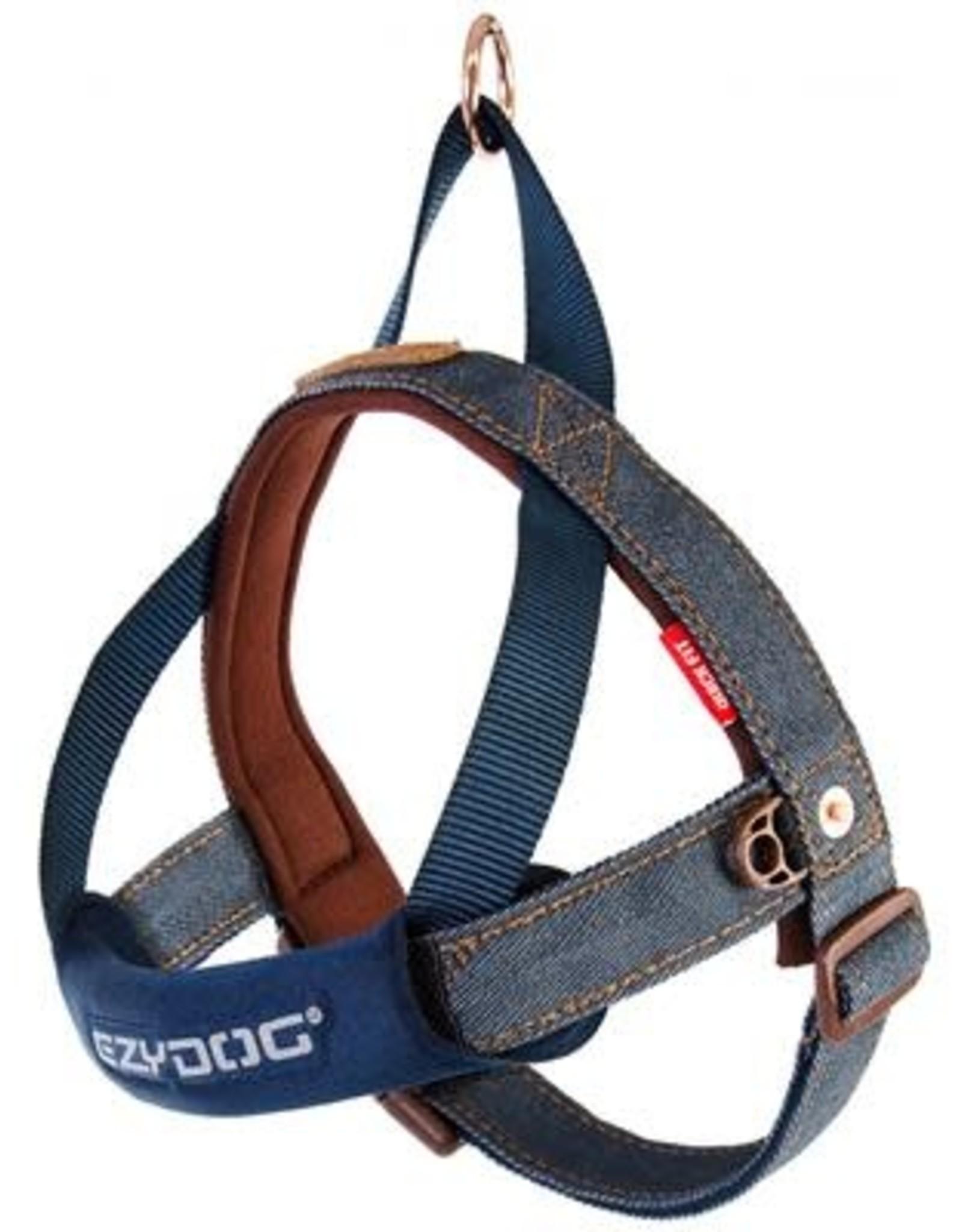 EzyDog EZYDOG Quick Fit Harness Denim XL