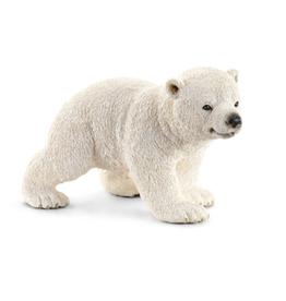 SCHLEICH SCHLEICH WILD LIFE - POLAR BEAR CUB, WALKING