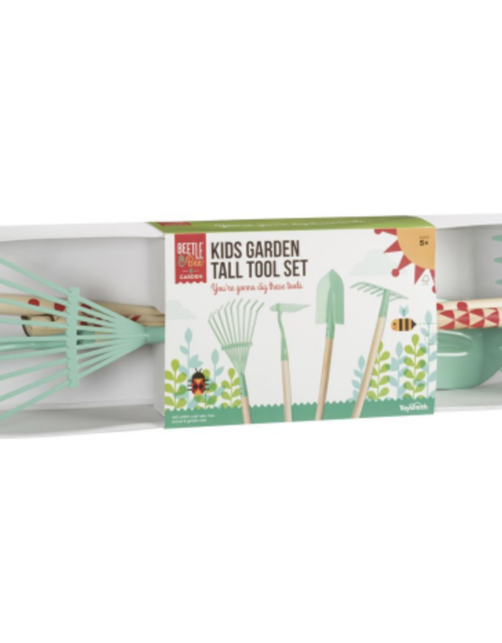 KIDS GARDEN TALL TOOL SET