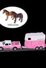 Kids Globe Horses Horse Transport Truck and trailer