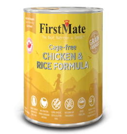 First Mate FirstMate Cat GFriendly Cage Free Chicken/Rice 12.2oz