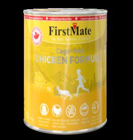 First Mate FirstMate Cat LID GF Chicken 12.2 oz