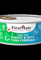 First Mate FirstMate Cat GF 50/50 Cage Free Turkey/Wild Tuna 5.5 oz