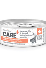 NUTRIENCE Nutrience Care Sensitive Skin & Stomach Pâté for Cats - Fresh Salmon Recipe - 156 g (5.5 oz)