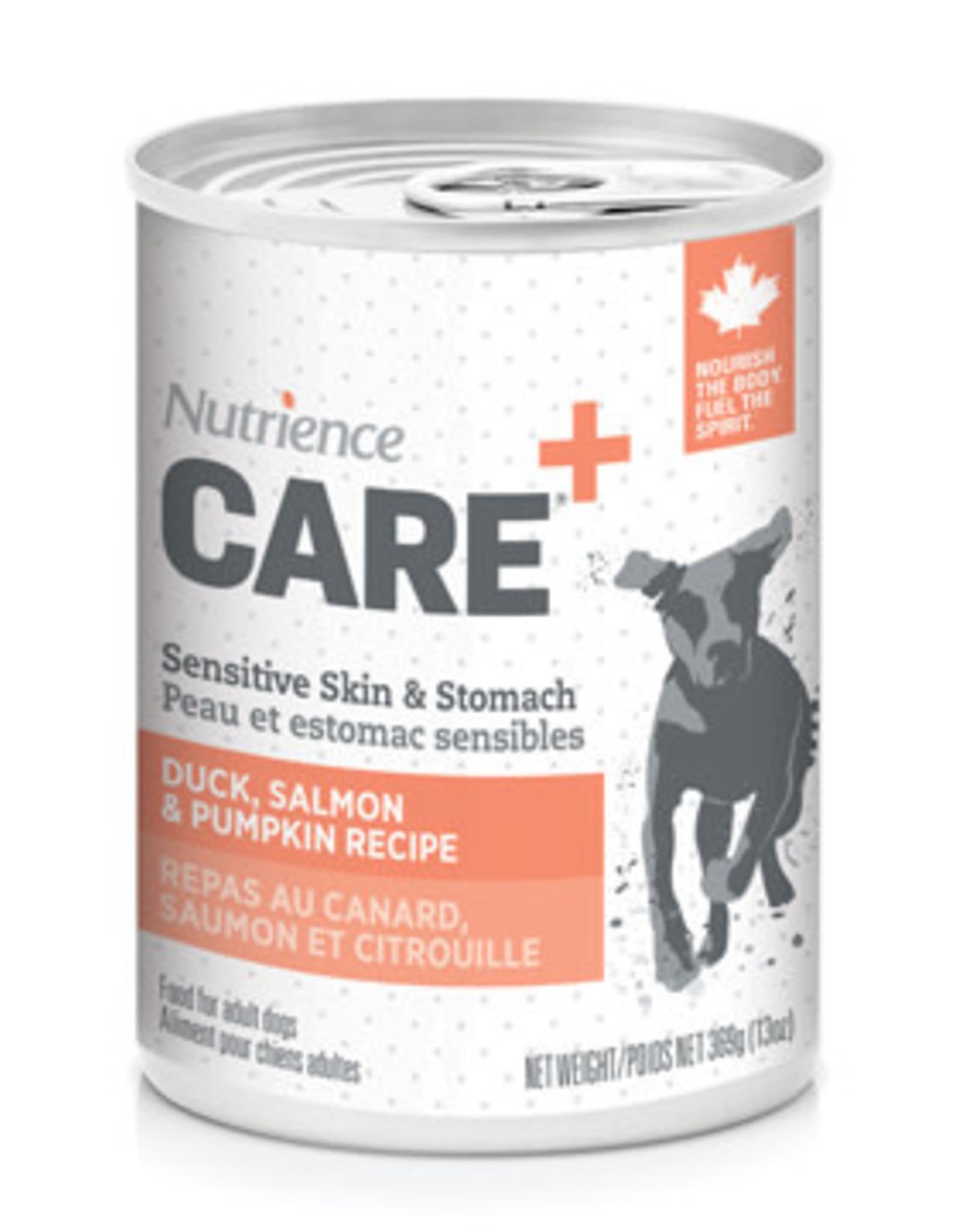 NUTRIENCE Nutrience Care Sensitive Skin & Stomach Pâté for Dogs - Duck, Salmon & Pumpkin Recipe - 369 g (13 oz)