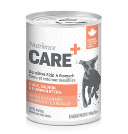 NUTRIENCE Nutrience Care Sensitive Skin & Stomach Pâté for Dogs - Duck, Salmon & Pumpkin Recipe - 369 g (13 oz)