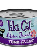 Tiki Pets Tiki Cat Aloha Friends GF Tuna/Calamari/Pumpkin 5.5 oz