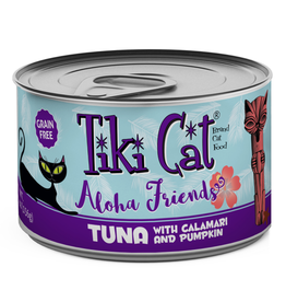 Tiki Pets Tiki Cat Aloha Friends GF Tuna/Calamari/Pumpkin 5.5 oz