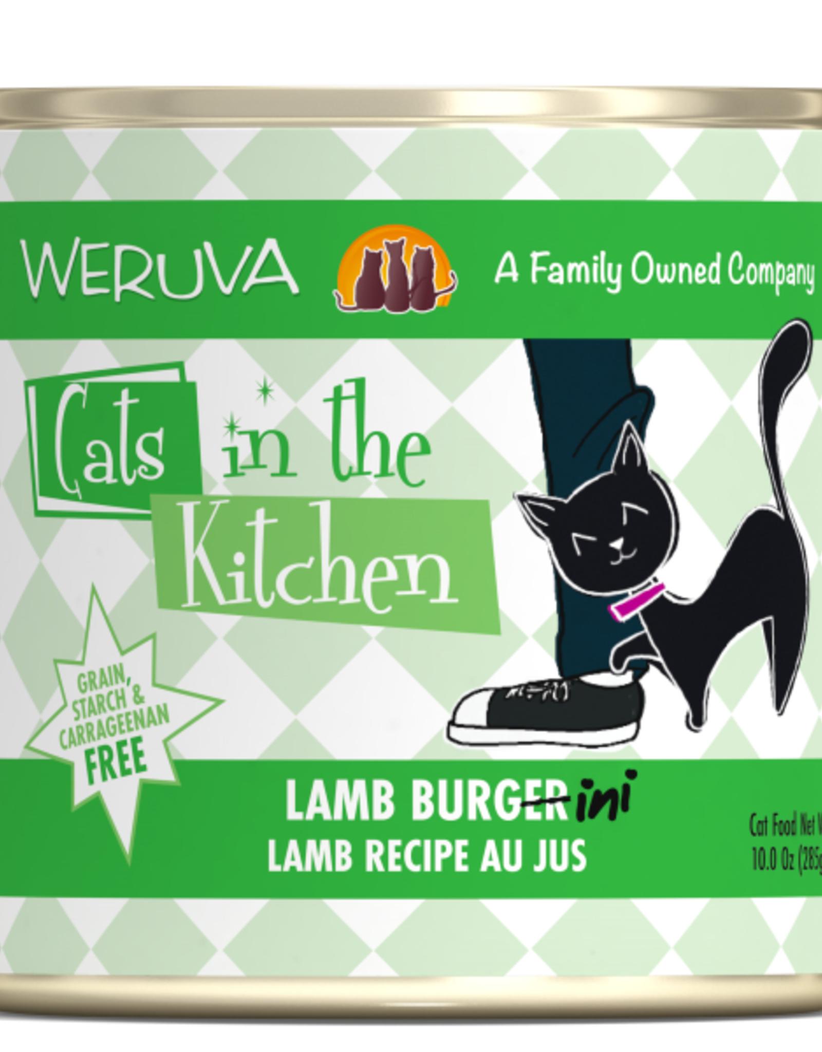 Weruva Weruva Cats in the Kitchen Lamb Burgini 10 oz