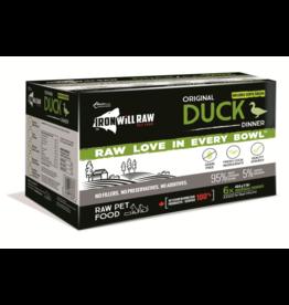 IRON WILL RAW Iron Will Raw Dog GF Original Duck Dinner 6/1 lb