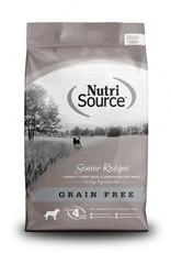 NUTRISOURCE NUTRISOURCE Senior Turkey/Fish GF 30lb