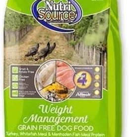 NUTRISOURCE NutriSourWeight Mgmt GF 30 lb