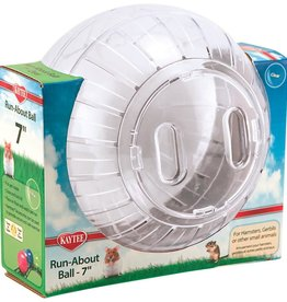 KAYTEE PRODUCTS INC KAYTEE RUN-ABOUT BALL - CLEAR 7in