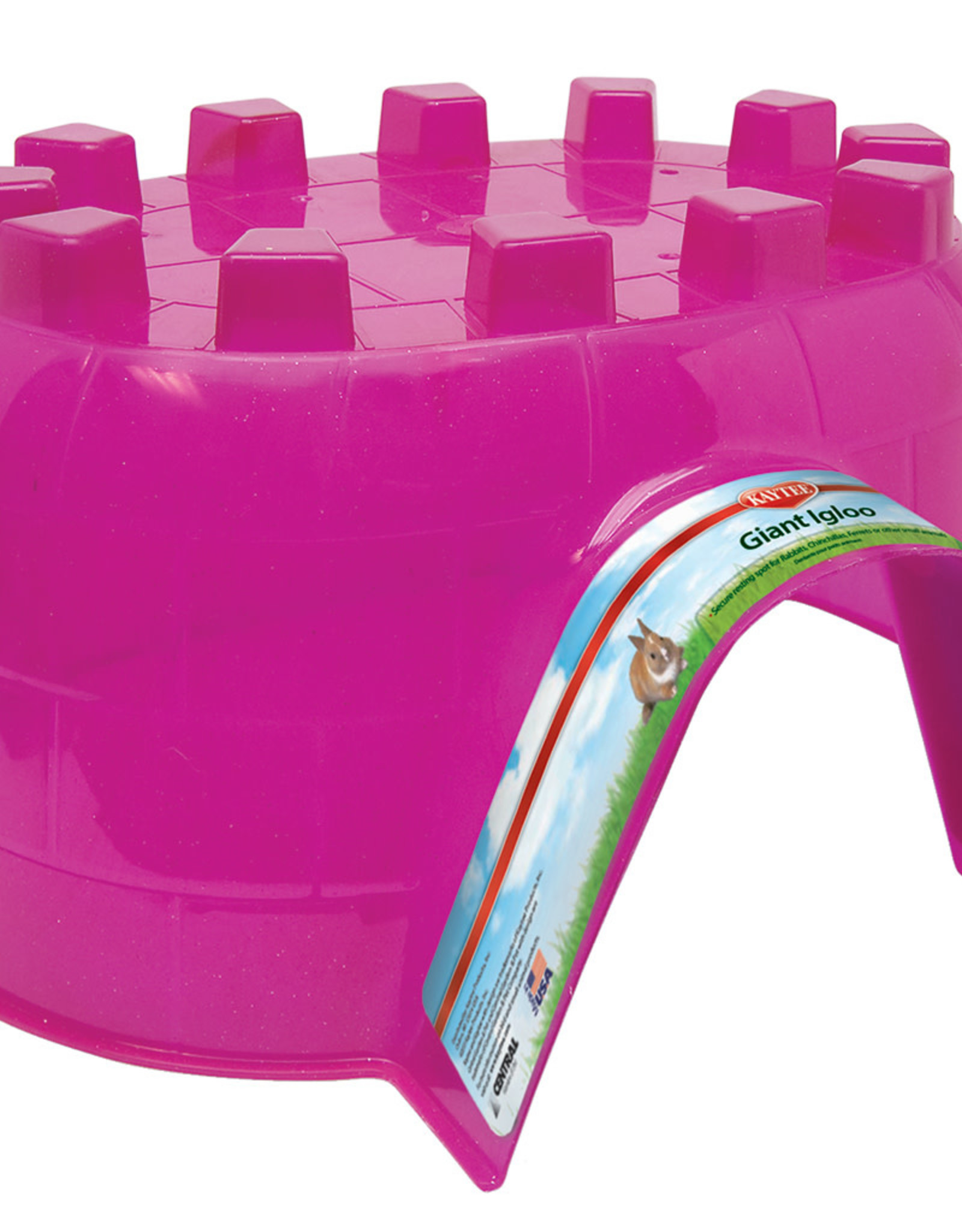 KAYTEE PRODUCTS INC KAYTEE Giant Igloo Assorted Color