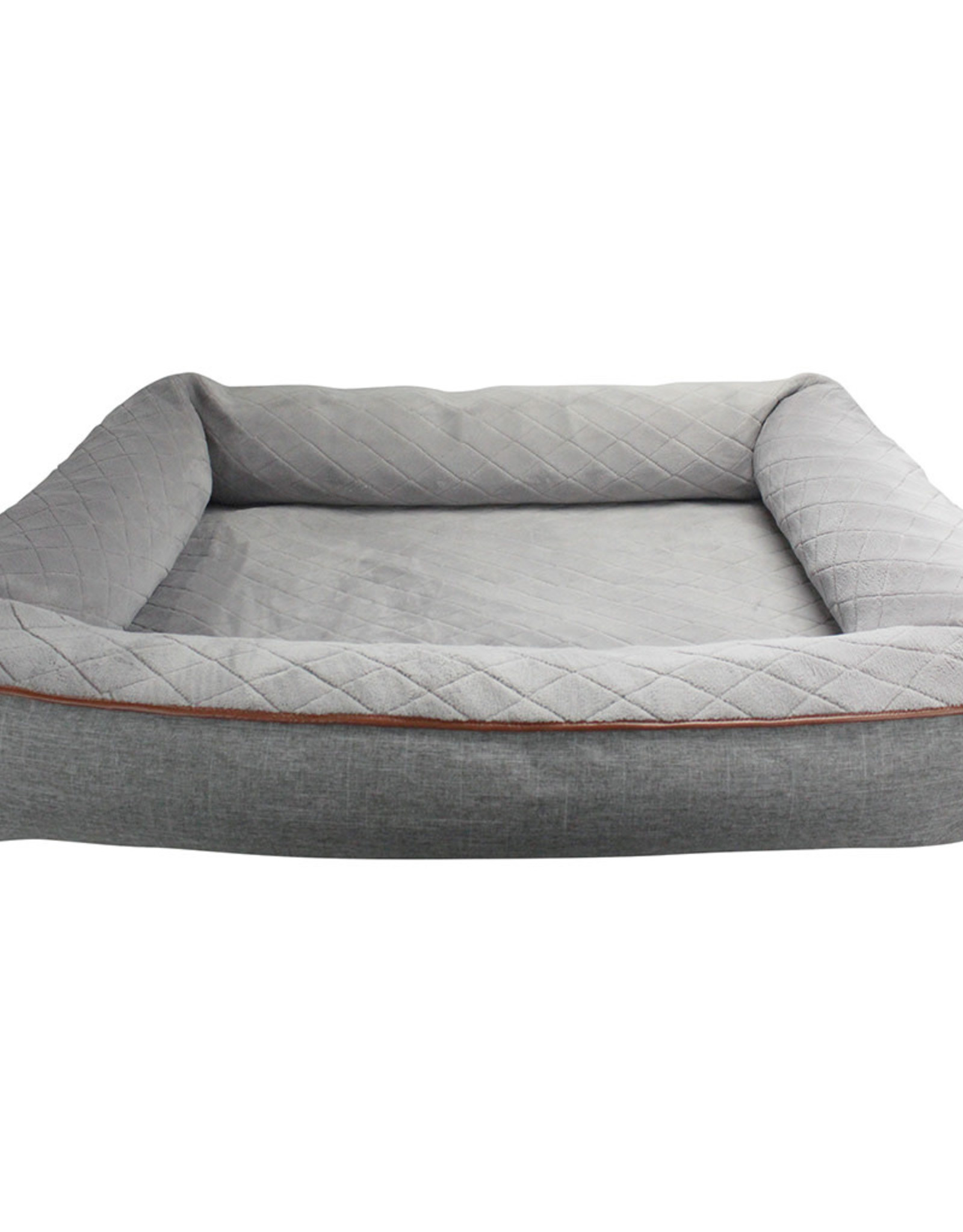 BE ONE BREED BE ONE BREED Snuggle Bed Gray Medium/Large 32x40