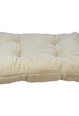 UNLEASHED Chill Gusset Bed Plush Cream 48x30