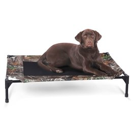 K&H PET Realtree Pet Cot Large 30x42