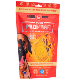 Boss Dog ProPuffs Cheddar & Bacon 170GM