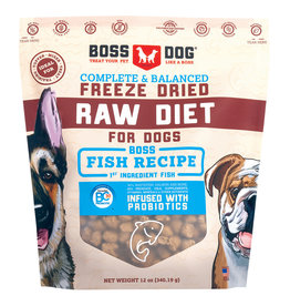 Boss Dog FD Complete Fish Recipe 340GM