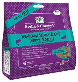 Stella & chewy's Stella & Chewy's FD Dinner Morsels Salmon & Cod 3.5OZ Cat