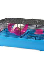 LIVING WORLD Living Living World Dwarf Hamster Cage - Hangout - 51 cm L x 36.5 cm W x 29 cm H (20 x 14.3 x 11.4 in)