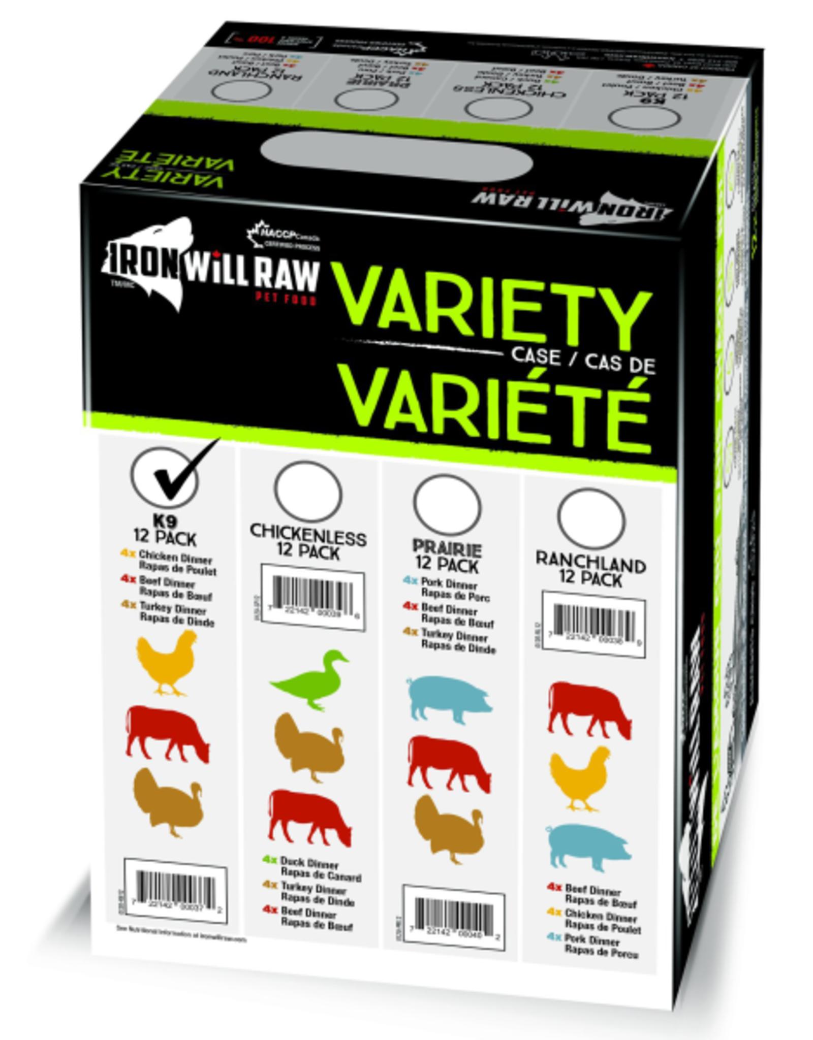 IRON WILL RAW Iron Will Raw Dog K9 12/1 lb