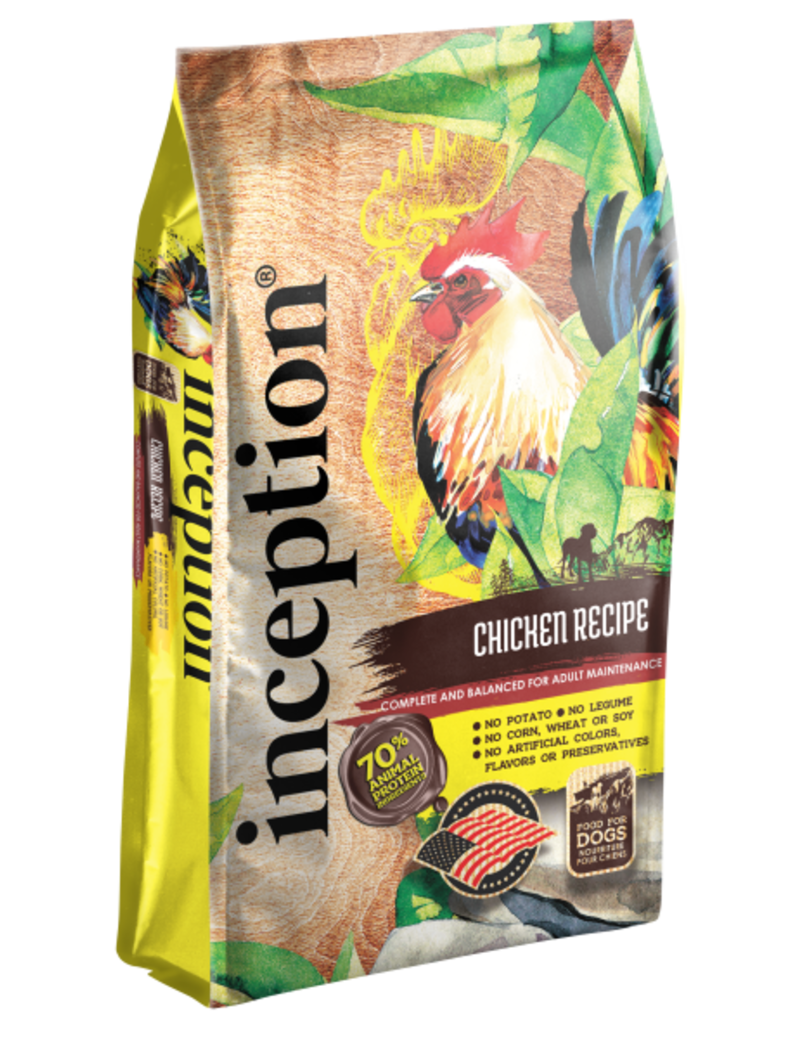 Inception Inception Dog Chicken 27 lb