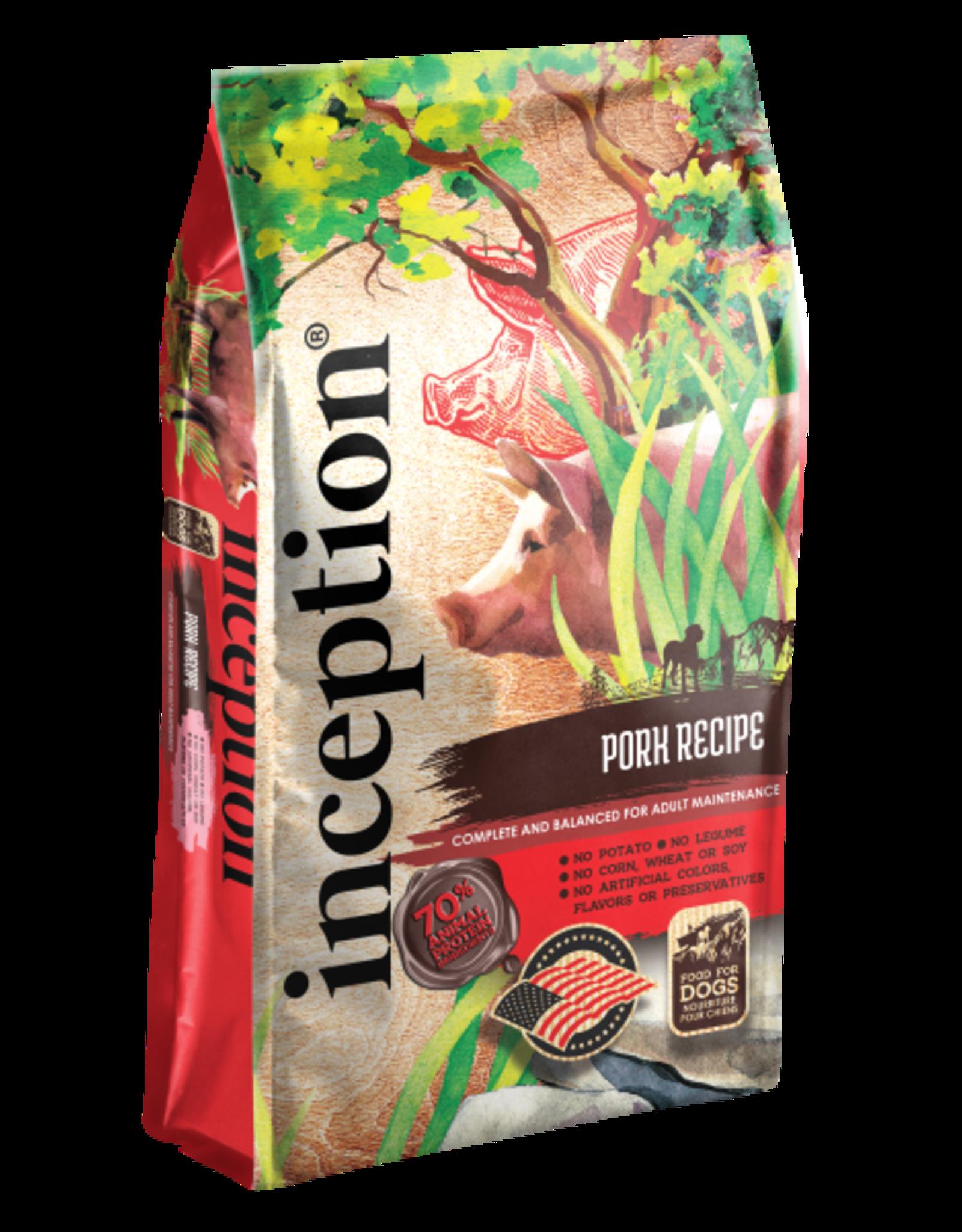 Inception Inception Dog Pork 4 lb