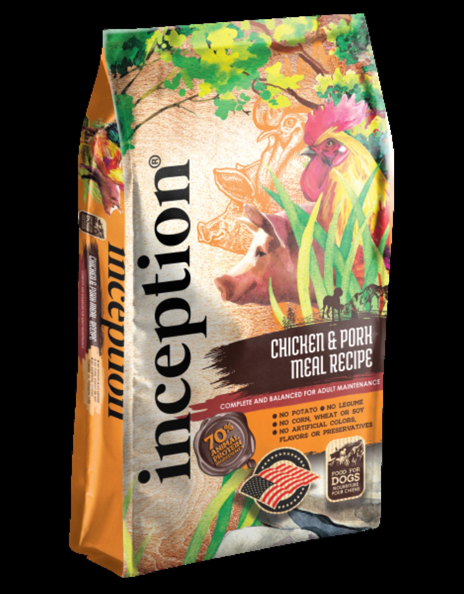 Inception Inception Dog Chicken & Pork 4lb