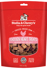 Stella and chewys FD Single Ingredient Chicken Hearts 3OZ (8)