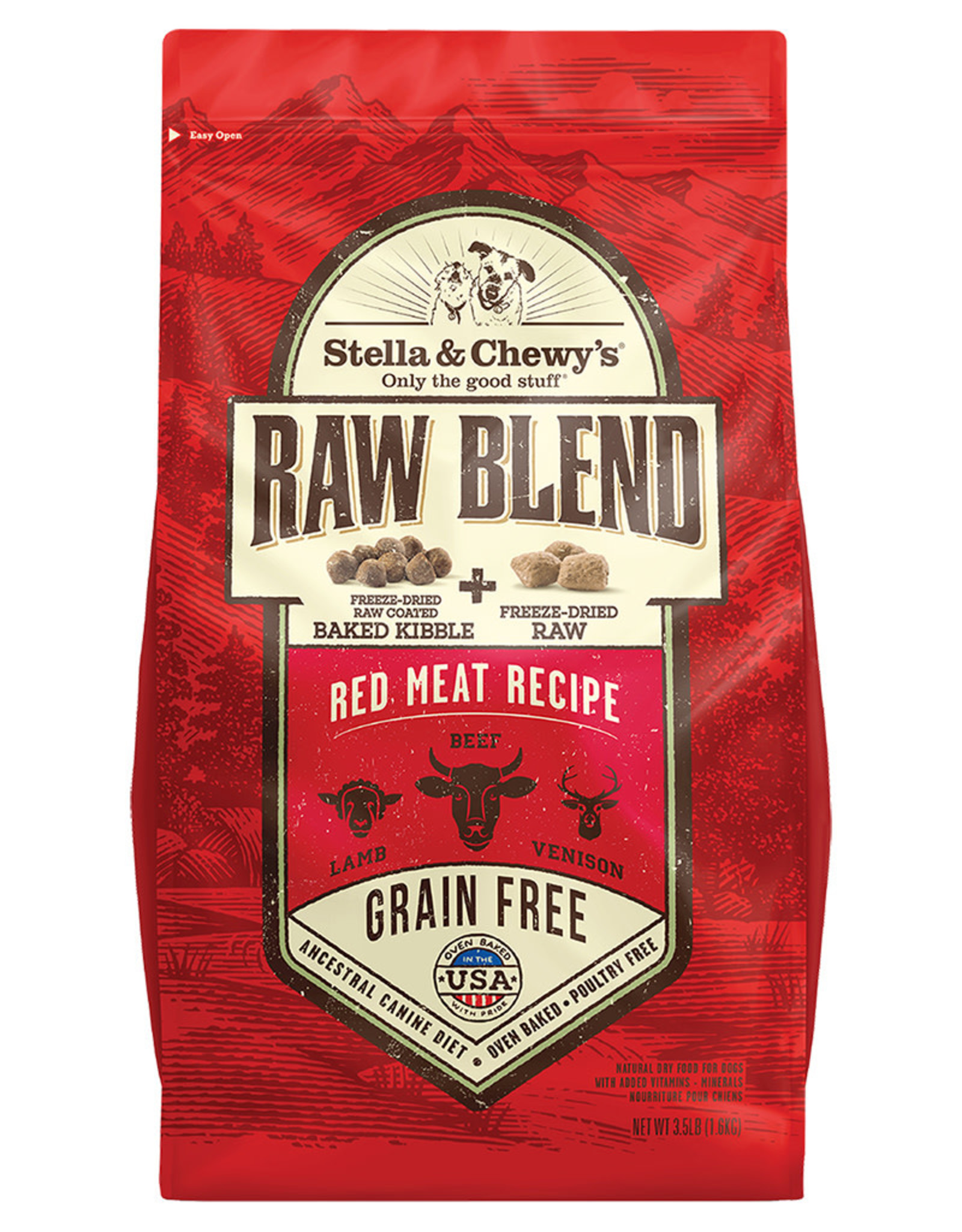 Stella & chewy's Stella and chewys Beef, Lamb & Venison 3.5LB (6)