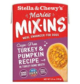 Stella & chewy's Stella & chewy's Marie's Mix-Ins Turkey & Pumpkin 5.5OZ