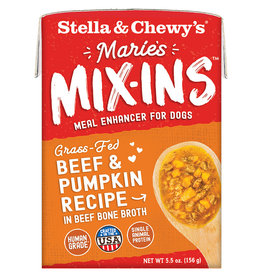 Stella & chewy's Stella & Chewy's Marie's Mix-Ins Beef & Pumpkin 5.5OZ