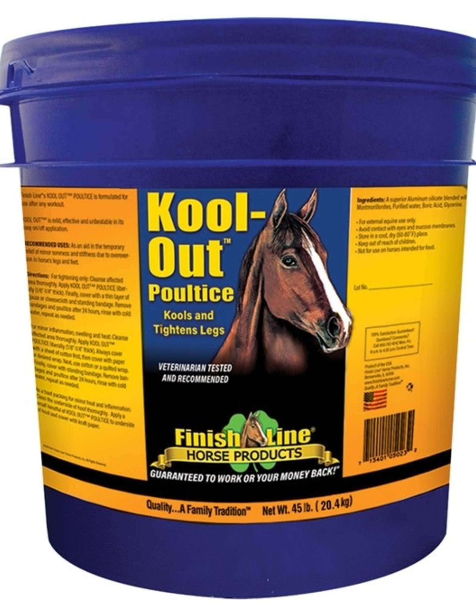 FINISHLINE Finish Line Kool out Clay 23lbs
